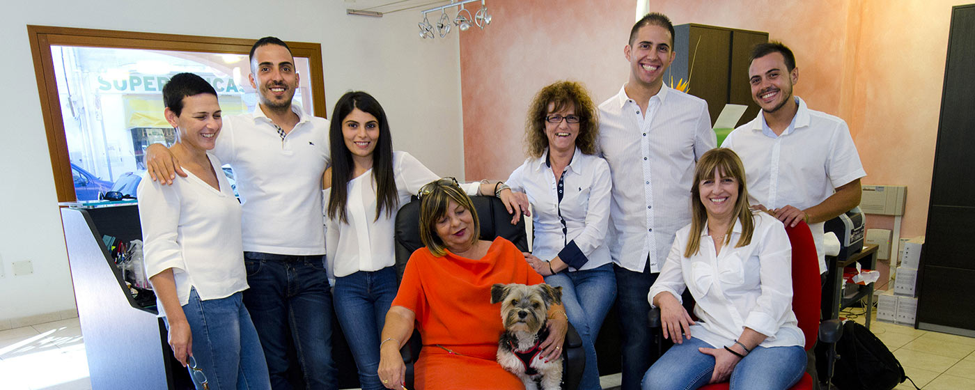 the Isola Rossa agency team